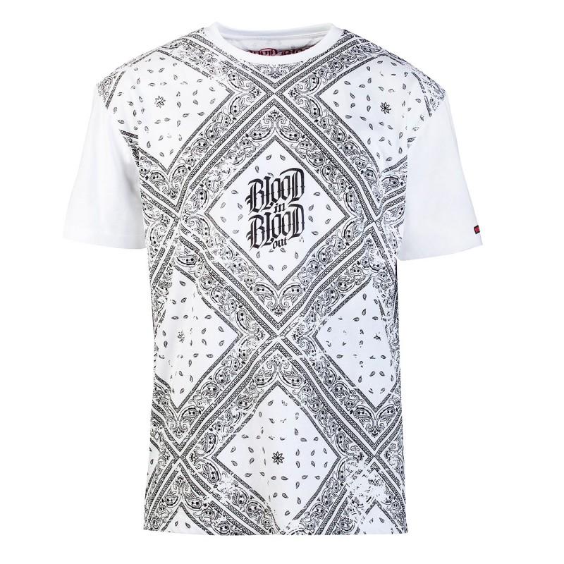 Blood-Black-Bandana-T-Shirt-weiss