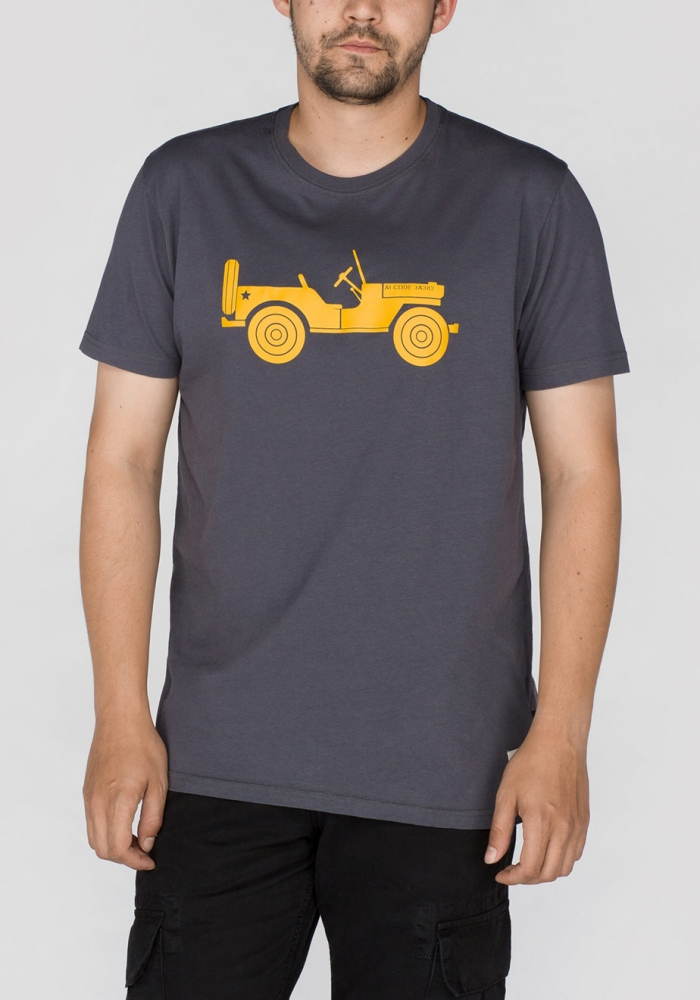 Grey Alpha-industries-willys-t-t-shirt