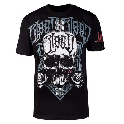 Blood-White-Skull-Shirt